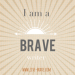Brave writer badge