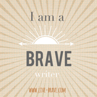 Brave writer badge